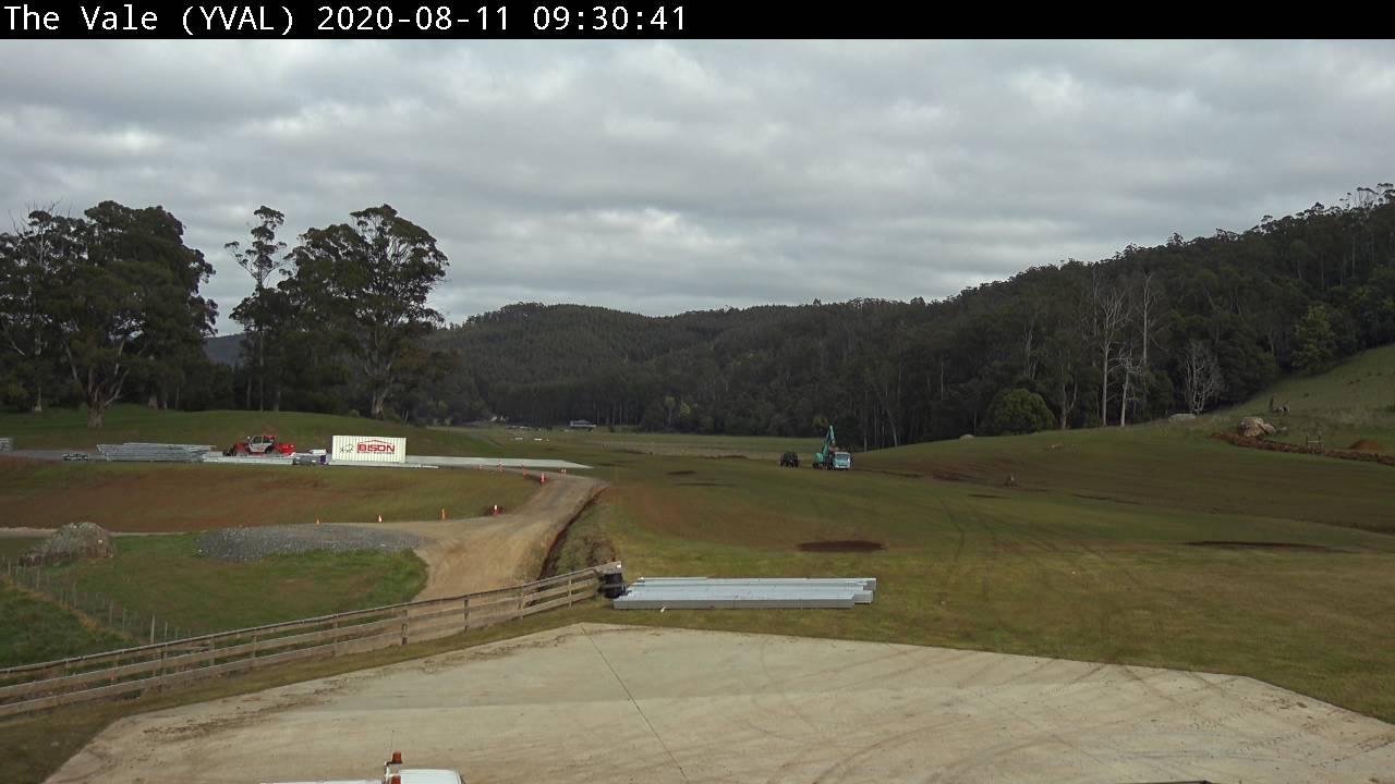YVAL Runway 06 webcam image
